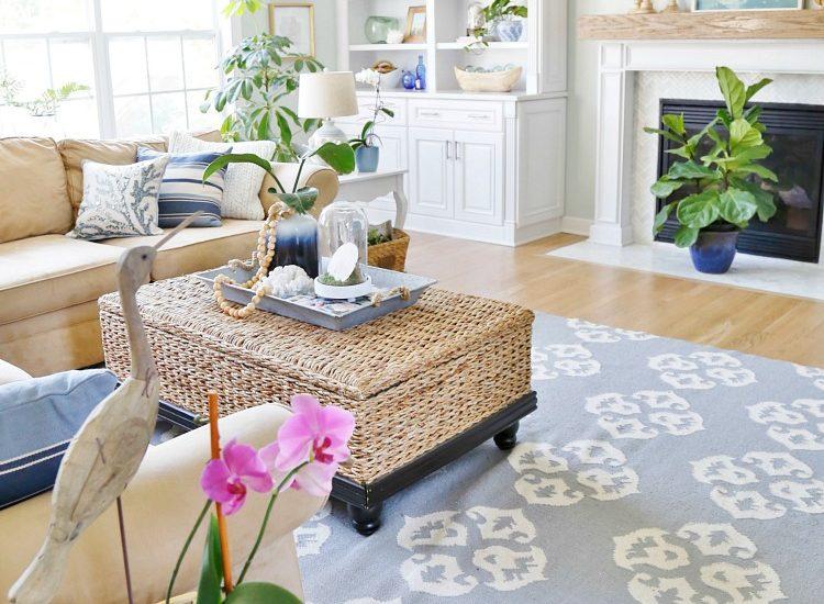 Coastal Design - Family Room
