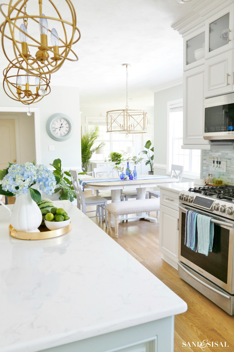 Coastal Kitchen - Summer Home Tour