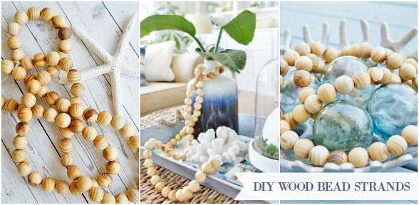 DIY Wood Bead Strands