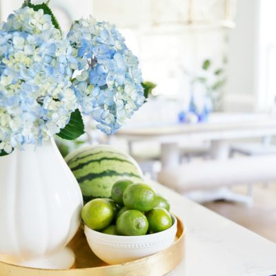 Hydrangeas and Limes