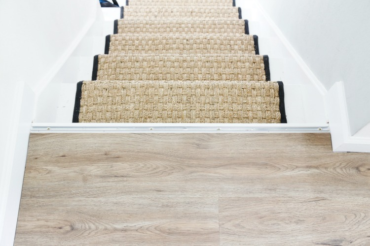 Nice Luxury Vinyl Flooring Stairs
