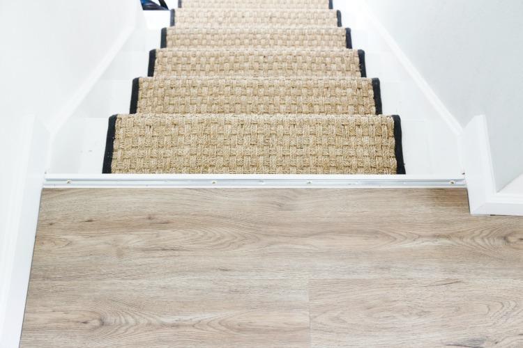 how to install luxury vinyl plank flooring sand and sisal. Black Bedroom Furniture Sets. Home Design Ideas