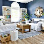 Nautical Media Room - Luxury Vinyl Plank Flooring