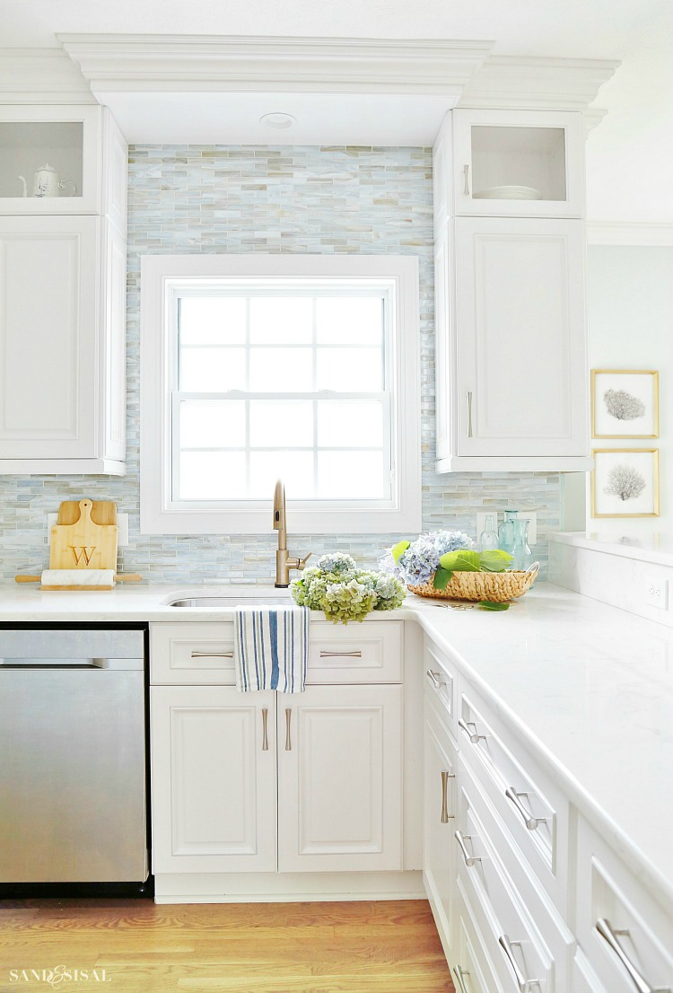 Summer Coastal Kitchen