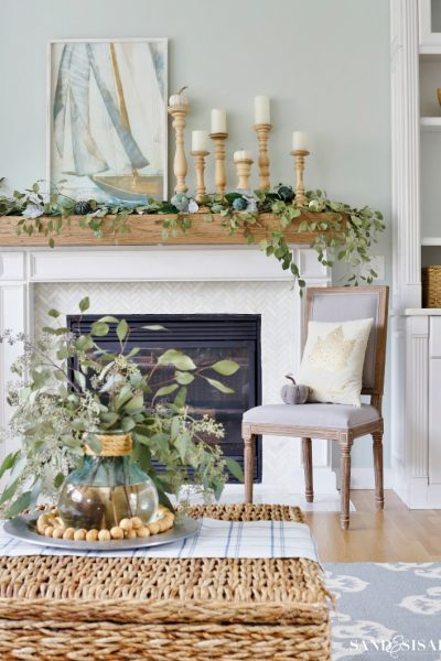 Coastal Fall Mantel
