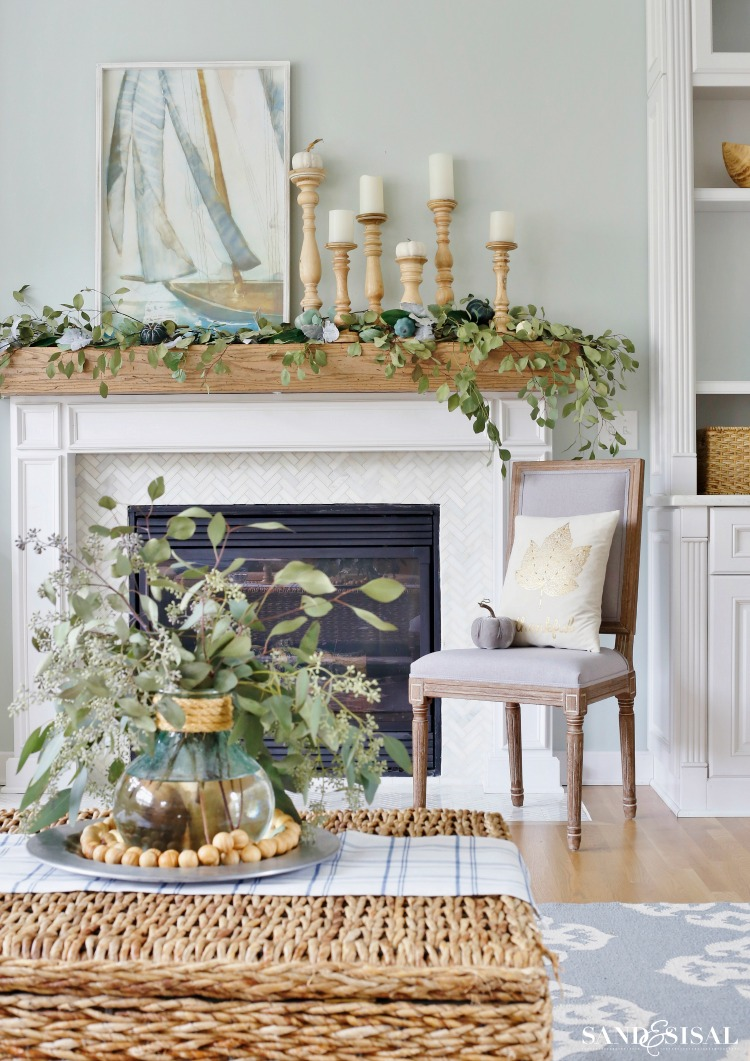 Coastal Fall Mantel A Coastal Fall Family