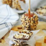 Chocolate Caramel Apple Bark