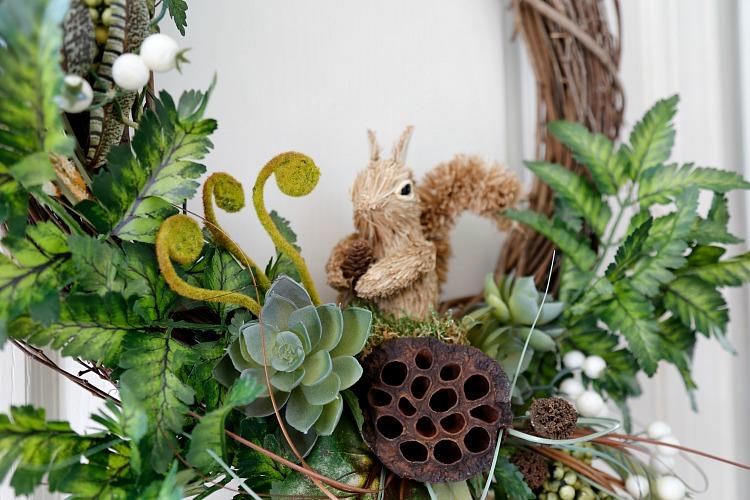 DIY Fall Woodland Wreath
