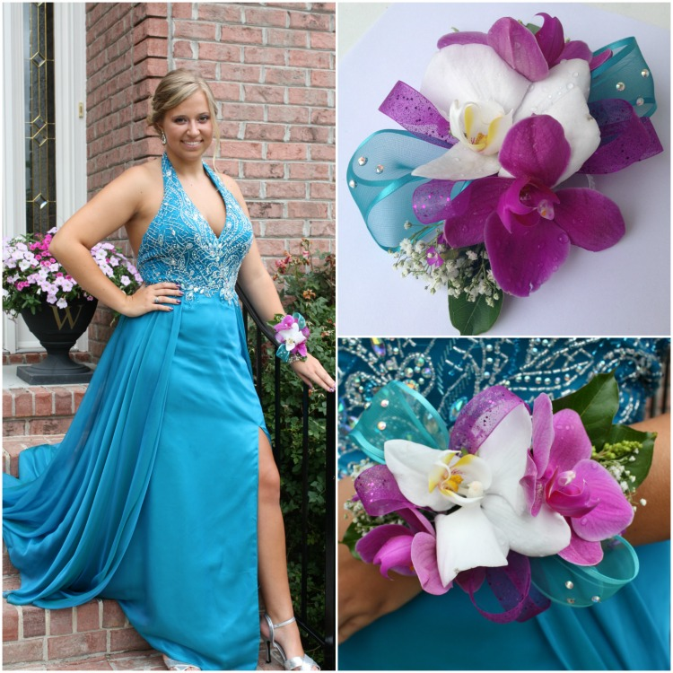 DIY Orchid Corsage - Prom