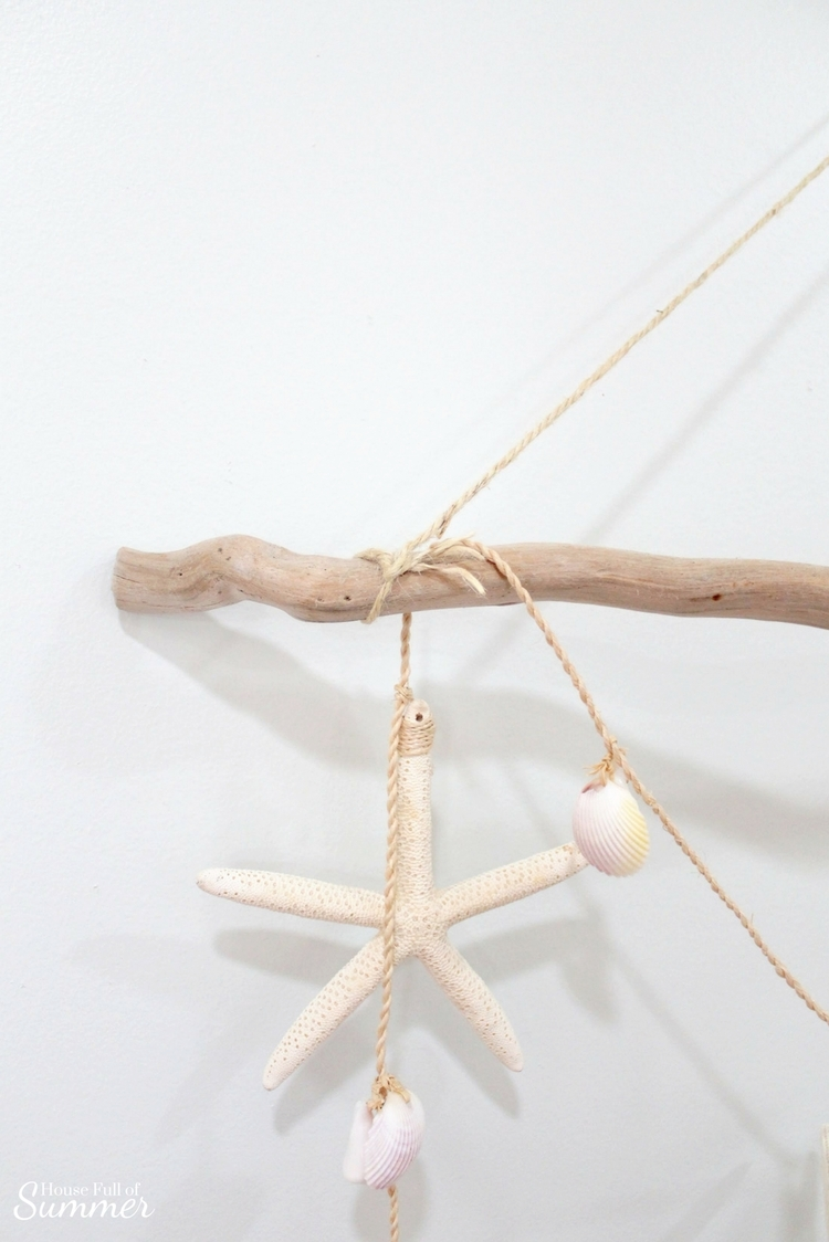 Driftwood wall hanging tutorial