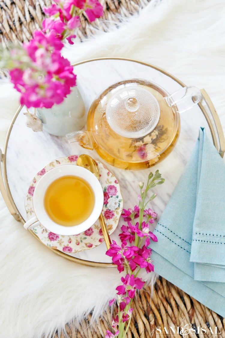 National Hot Tea Month 2018 - Tea Party Ideas