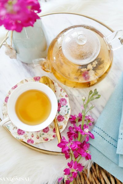Tea Party Ideas and Recipes + National Hot Tea Month