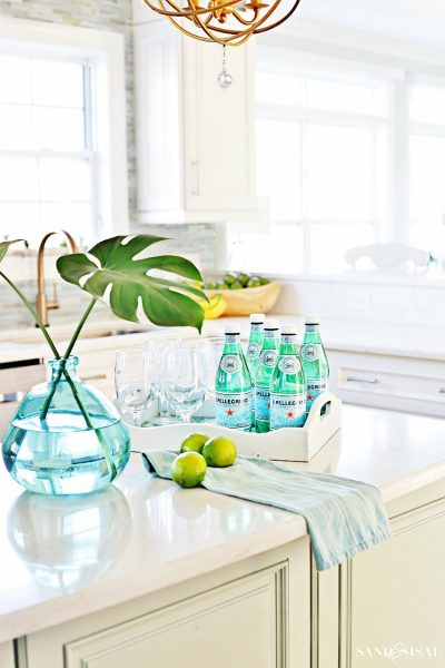 Coastal Kitchen Decorating Ideas for Spring
