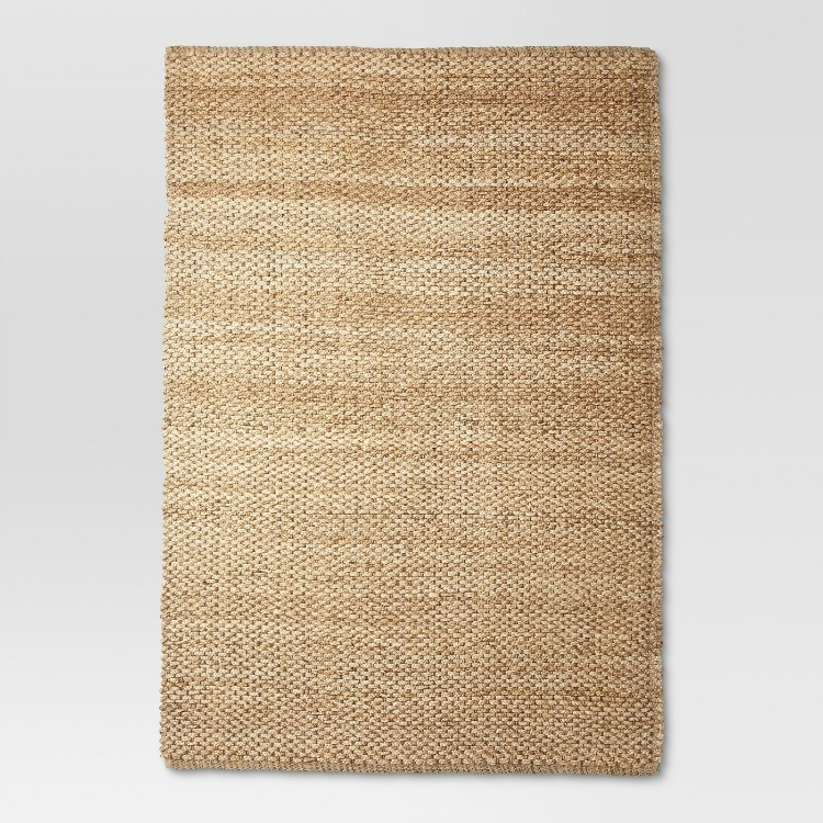 ad3aa44d756 ... this natural fiber woven rug has a cotton backing for durability and is  soft underfoot. I have 2 similar rugs in my home and love how any color  scheme ...