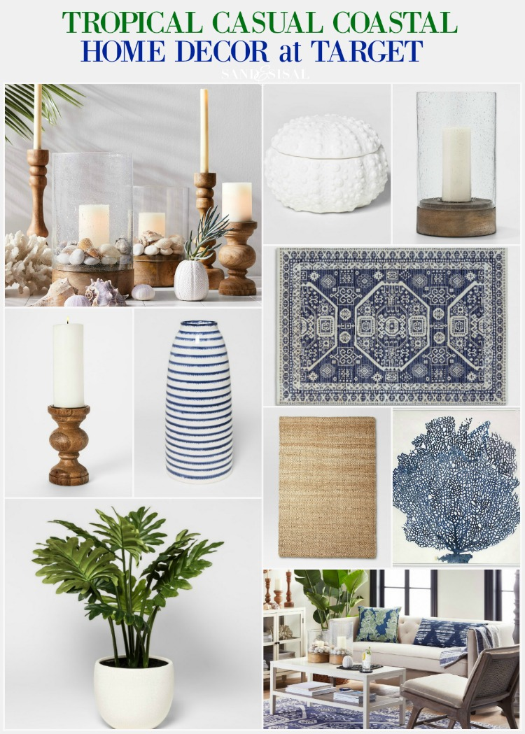 tropical home decor items tropical casual coastal home decor from target sand and sisal  tropical casual coastal home decor from