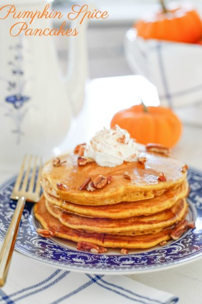 National Coffee Day Celebration with Pumpkin Spice Pancakes