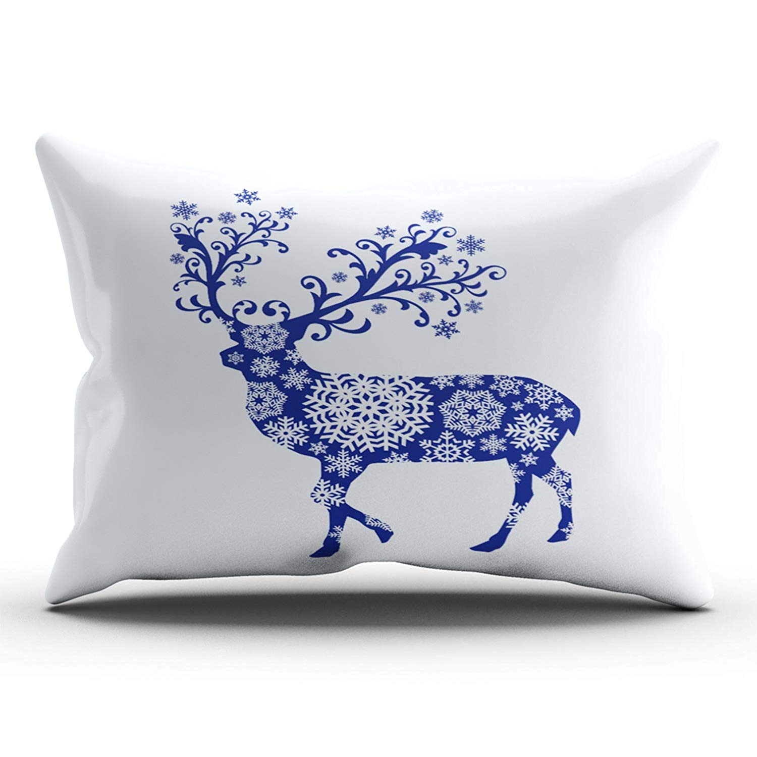 Reindeer Lumbar Pillow Cover