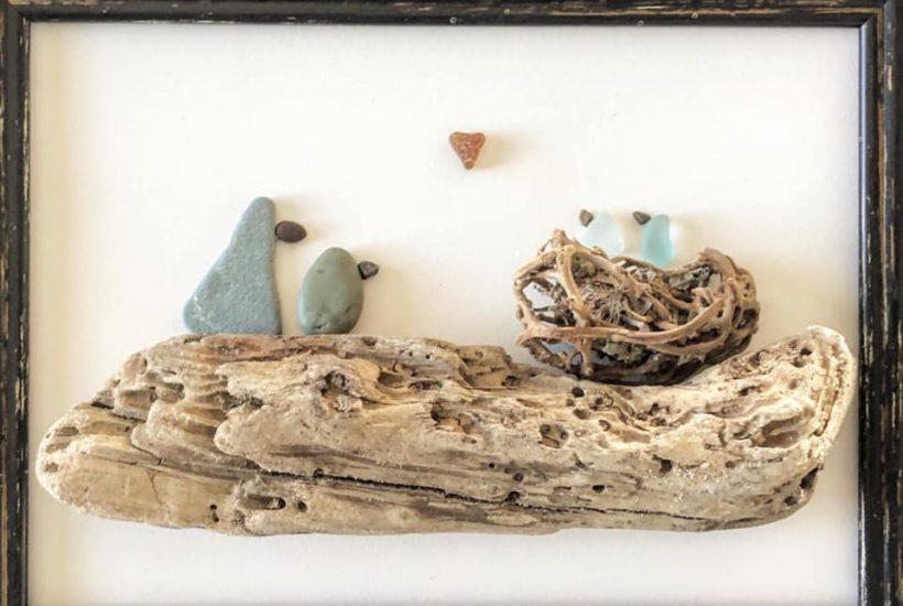 Beach Art - Heidi Peters- Family Nest