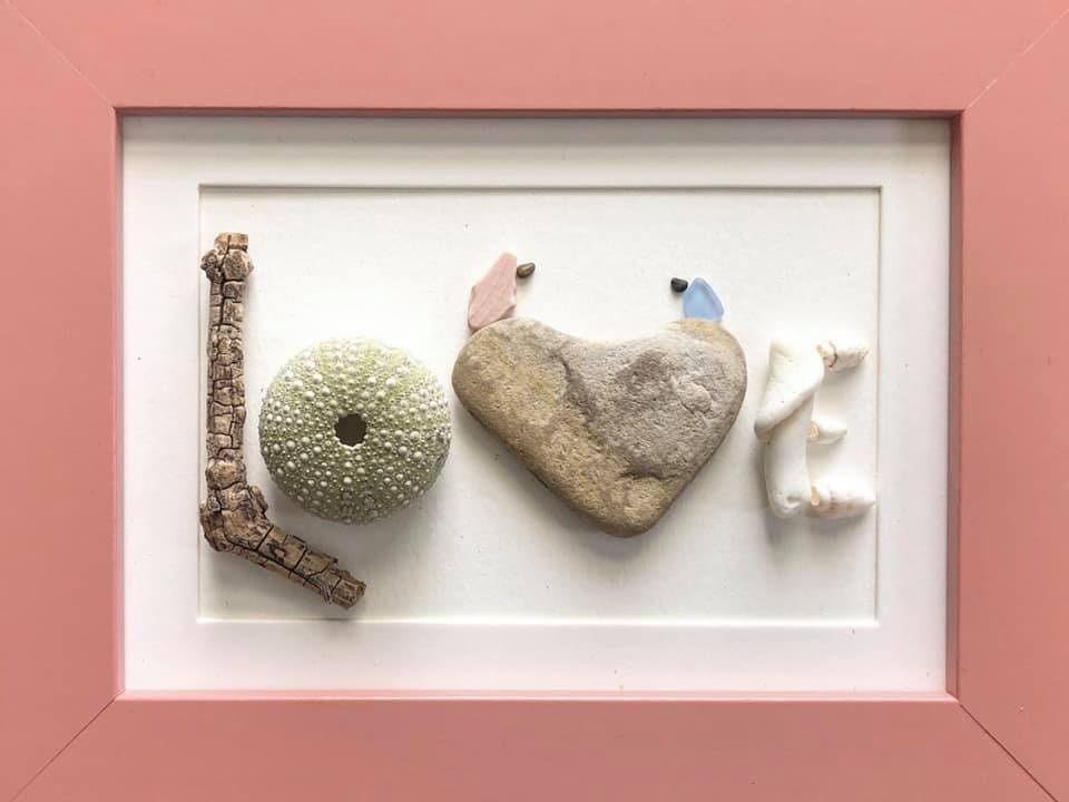 Beach Art - Heidi Peters - LOVE