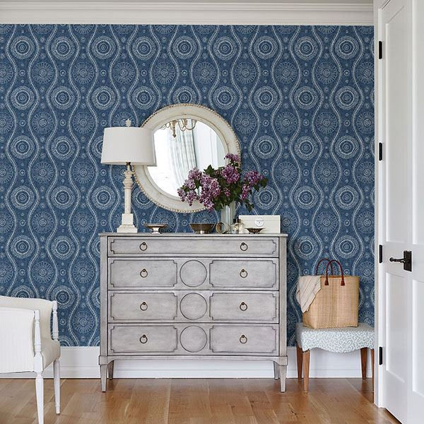 Beautiful Blue and White Wallpaper Patterns