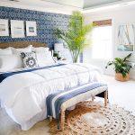 Coastal Blues Master Bedroom Makeover
