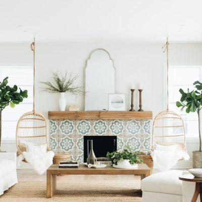 Coastal Farmhouse living room
