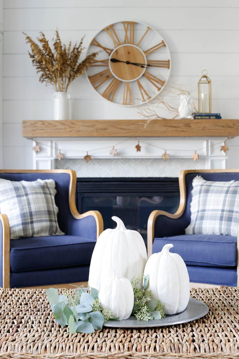 Astounding Cozy Neutral Fall Family Room Tour Sand And Sisal Frankydiablos Diy Chair Ideas Frankydiabloscom