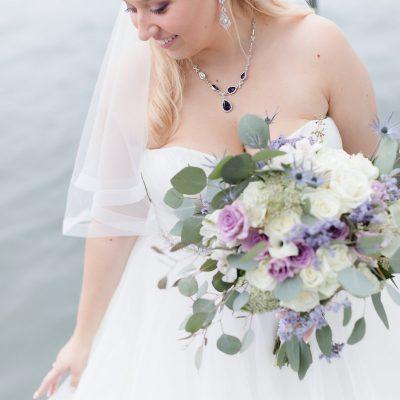 Lavender Fall Coastal WeddingLantern Wedding Centerpieces