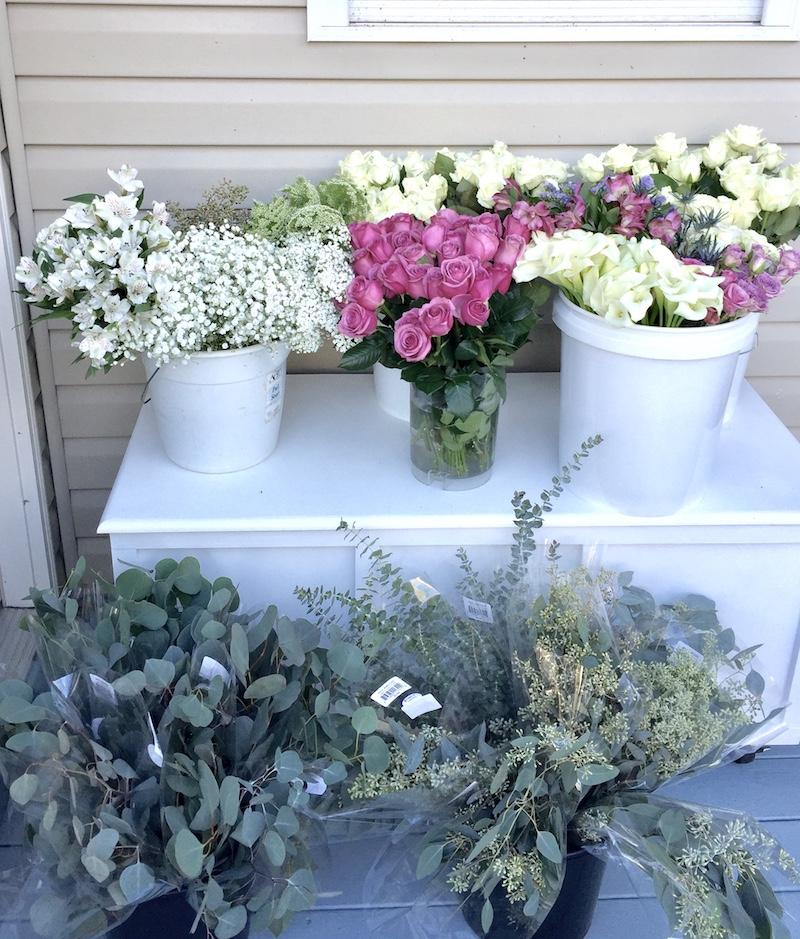Storing flowers