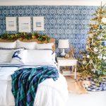 Coastal Christmas Bedroom