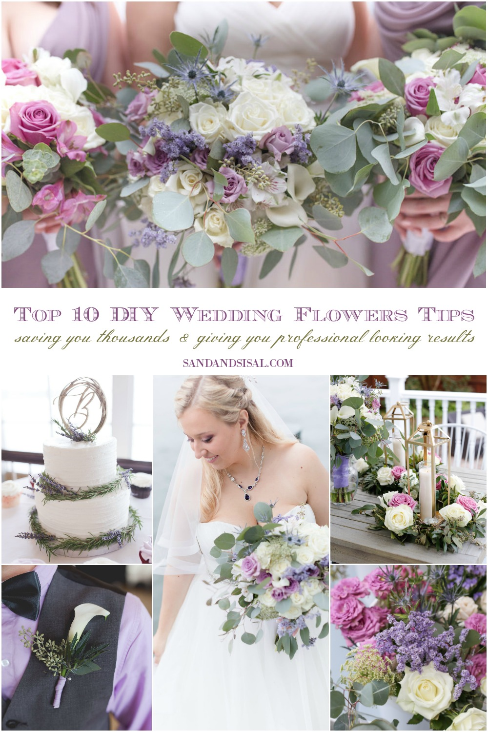 Top 10 DIY Wedding Flowers Tips