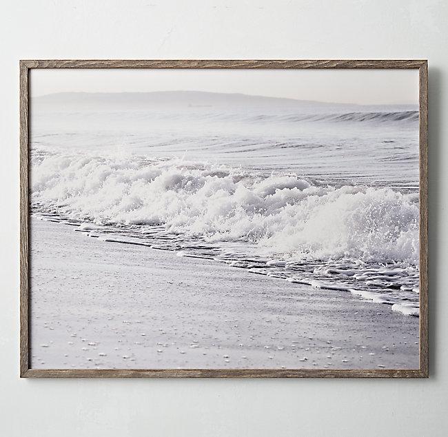 Restoration Hardware Teen Ocean Art