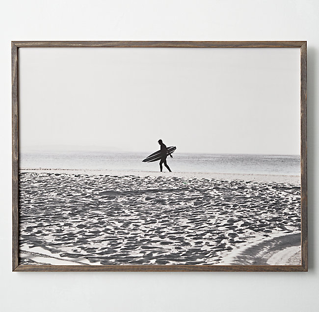 Restoration Hardware Teen Surf Art
