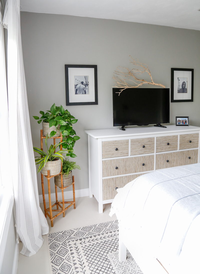 Ikea Hemnes Hack Sea Grass Dresser