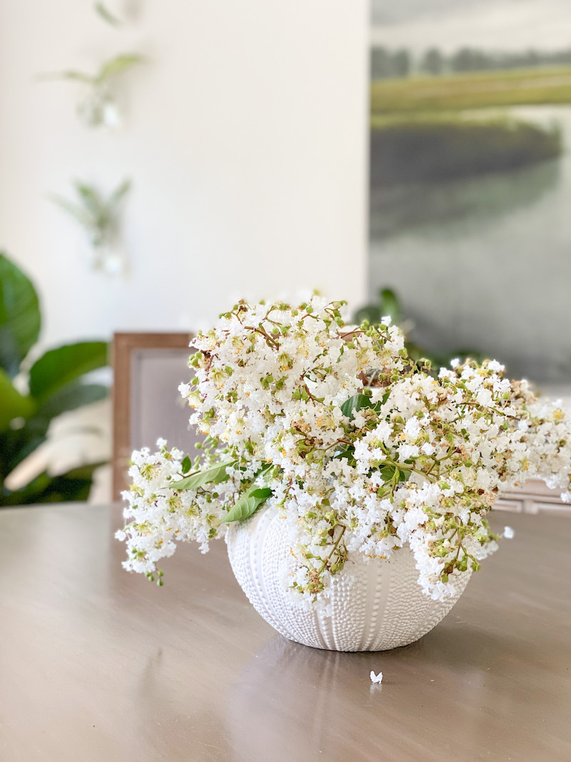 Crepe Myrtle Flower Arrangement