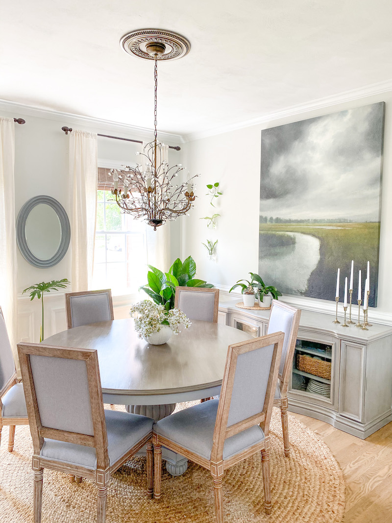 Summer Coastal Dining Room