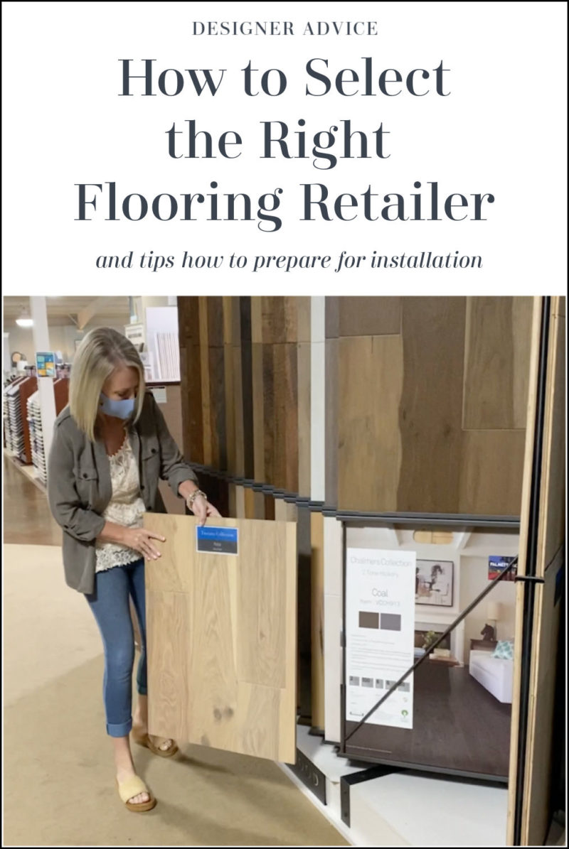 How to Select the Right Flooring Retailer
