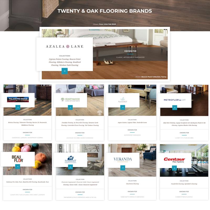 Twenty and Oak Flooring Brands
