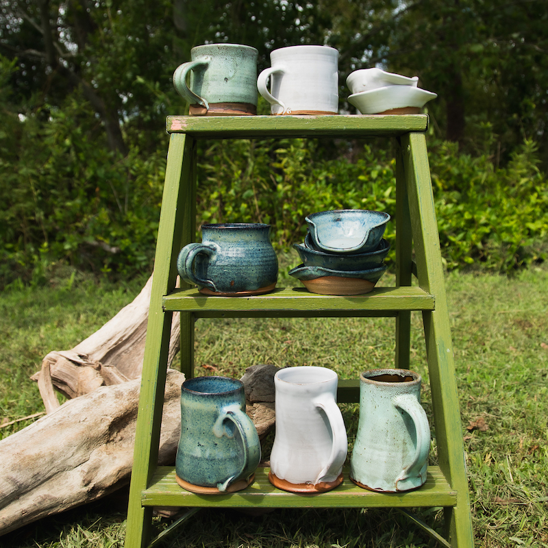 Michael Middleton Ceramics - mugs and spoon rests